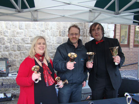 Public Address with Britain's Got Talent Bell Ringers